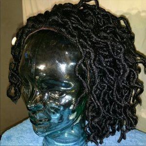 Black Braided Full Quality Wella Wig 1B